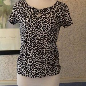 Rafaella Tops - Animal Print Ladies Top